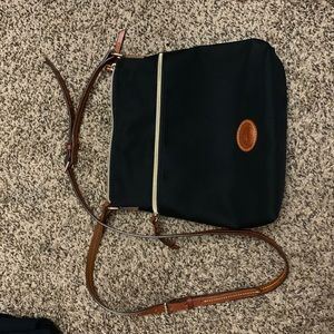 Black nylon Dooney and Burke crossbody
